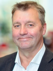 Portretfoto van Anders Vink, voorzitter van de vereniging.