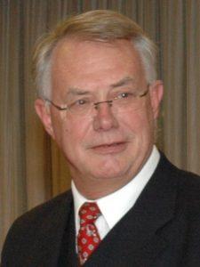 Portretfoto van Aat de Jong, penningmeester van de vereniging